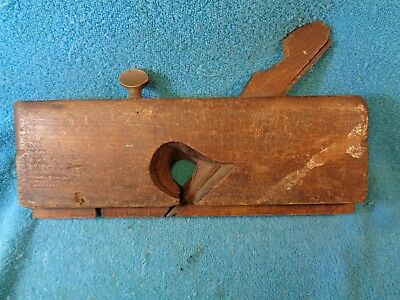 "Vtg Old # 48 OHIO TOOL Wood Plane Carpenters 7/8"" Woodworking Tool Owner Named?"