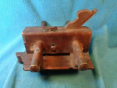 Vtg W. BRITTON Wood Molding Plane Carpenters Woodworking Tool Owner Named ?