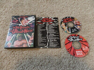 THE SELF-DESTRUCTION OF THE ULTIMATE WARRIOR wwe dvd 2-DISC COLLECTOR'S EDITION
