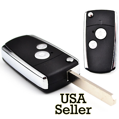 USA 2 Buttons Flip Case Honda Civic Crv Accord Pilot Fit
