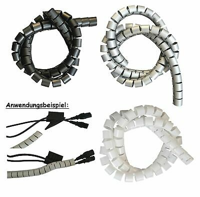 2m Cable Protection Cable Routing 15mm Incl. Tools