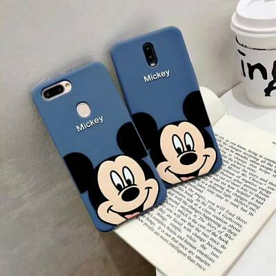 Cute Cartoon Mickey Soft Silicone Case Cover For iPhone Xs max 8 7 6 OPPO Huawei