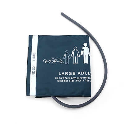 Large Adult Single Tube Cuff for Blood Pressure Monitor Cir.33-47cm