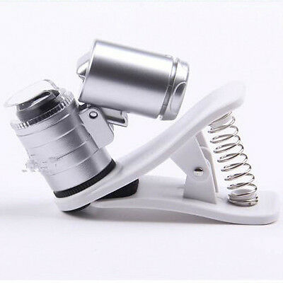 for Cell Phone  60X Optical Zoom Clip Telescope Camera Microscope Lens DL5
