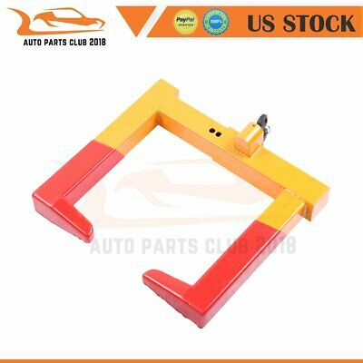Adjustable Hydrant Yellow Clamp with Steel Sleeves Fit Boat Trailers