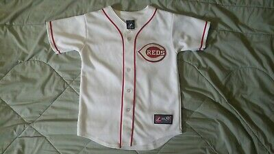 9f9ff72a MLB CINCINNATI REDS Youth Button Front Jersey Votto 19 red/black XL ...