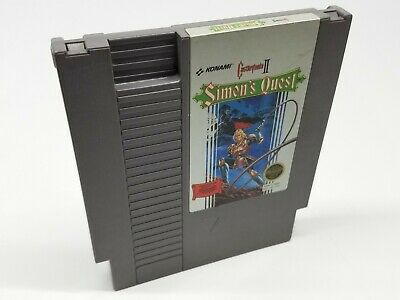 CASTLEVANIA II 2 SIMONS QUEST Nintendo NES Cleaned & Tested Cartridge Only