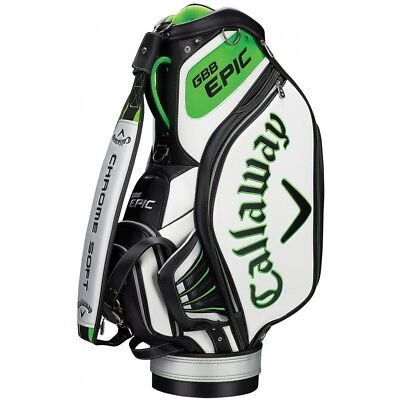 """Callaway Epic 10"""" Golf Tour Staff Trolley Bag / As Used On Tour @ 50% Off Rrp"""
