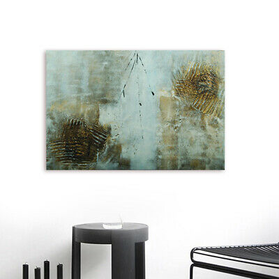 Modern Abstract Wall Art Canvas Hand Painted Oil Painting Home Decor Framed