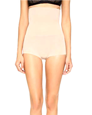 SPANX Women's Higher Power Boy Shorty, Light Nude, Large