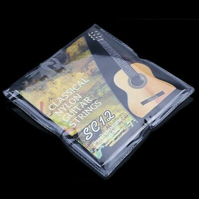 6pcs Nylon Guitar Strings for Classic Acoustic Guitar SC12 Strings Perfect