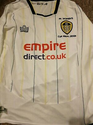 Rare vintage Original Leeds United Womens Fa Cup Final Shirt