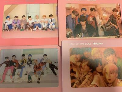 BTS MAP OF THE SOUL PERSONA BIGHIT SHOP Aurora photo frame ver.1 2 3 4 set