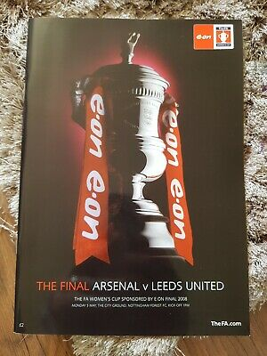 Leeds United V Arsenal 2008 Womens F A Cup Final
