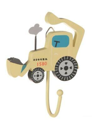 Sass & Belle Yellow Digger Single Hook for Bedroom