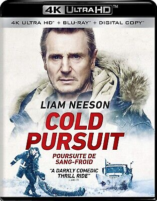 COLD PURSUIT (2019) [4K ULTRA HD + Blu-ray +Digital] New !! (Free Shipping !!)