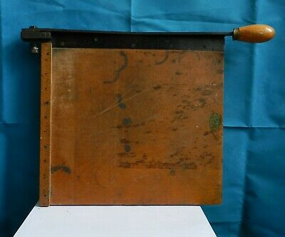 Vintage 'Envoy' paper / photographic guillotine Made in England