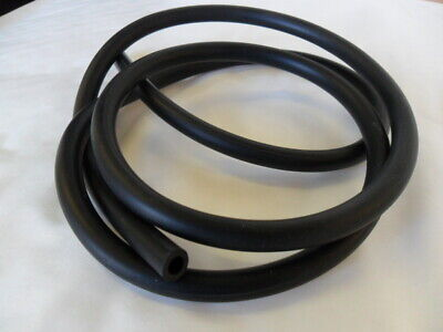 190cm/1.9m x 4mm ID EPDM BLACK RUBBER windscreen wiper washer jet tube/pipe/hose