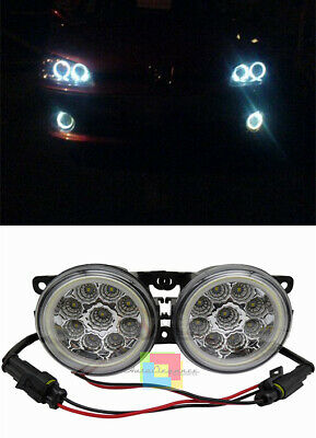 Peugeot 206+ 207 308 2008 3008 FANALI FENDINEBBIA DIURNE ANGEL EYES FULL LED