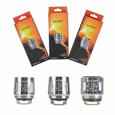 5er/Pack SMOK Baby TFV8 Tank Baby V8-Q2 V8-T8 Coil The Baby Big Baby Beast Head