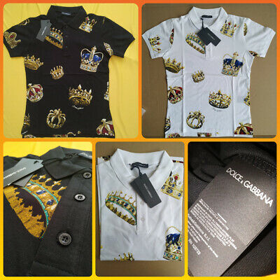 b57831378 NWT $550 DOLCE & Gabbana T Shirt Size 46 Small art print Dolce and ...