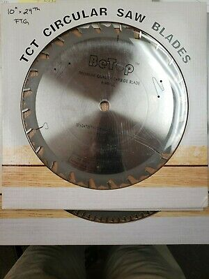 """Table Saw Blade: Betop 10"""" Carbide Ripping Blade-24 Tooth"""