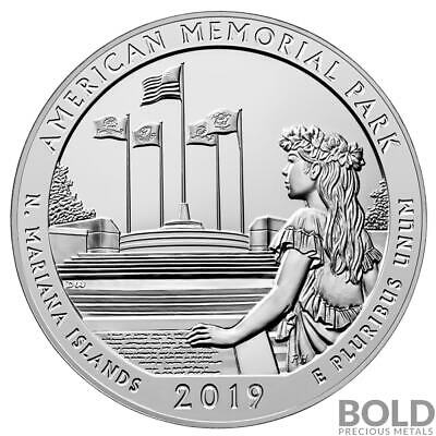 2019 Silver 5 oz ATB American Memorial Park, Mariana Islands