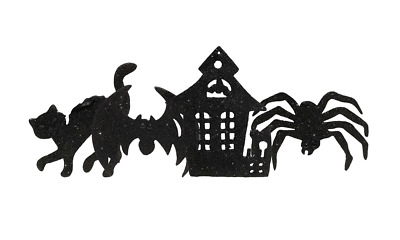 Bethany Lowe - Halloween Silhouette Ornaments (Set of 4)  - RI0864