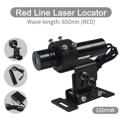 Focusable Laser Locator 100mW 650nm Red Line Laser Module Long Time Work