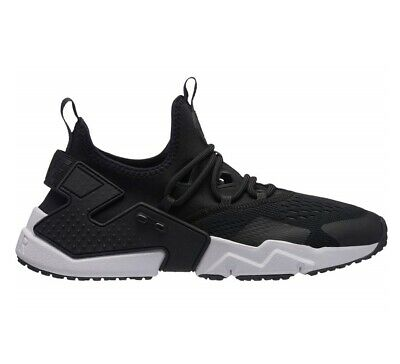 separation shoes bb3d0 76ff9 Nike Air Huarache Drift BR Mens AO1133-002 Black Anthracite White Shoes  Size 10