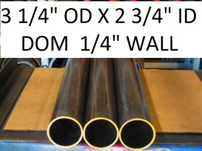 "E0249  Dom Round Steel Tube  3.250 Od  X   2.750 Id  (.250 Wall)   24""  Long"