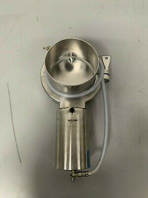 Muller Pneumatic Sanitary Butterfly Valve Type PAMS-93