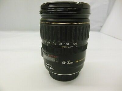 CANON EF 28-135mm 1:3.5-5.6 IS  - Black. Excellent condition! #12702R