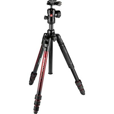 Manfrotto Befree Advanced Travel Tripod Twist with Ball Head - Red