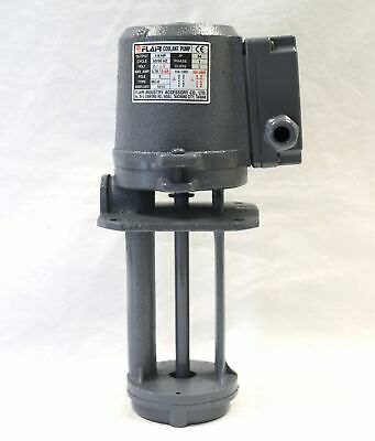"1/8 HP Machinery Coolant Pump, 110/220V, 1PH, 150mm (6"") Shaft, CE, FLAIR"