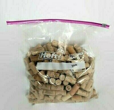 Wine Corks 300 Synthetic Upcycled Used Repurpose Crafts Barefoot Ménage à Trois