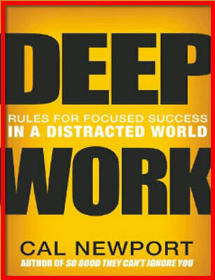 Deep Work by Cal Newport - Digital & Audio Book *** Fast Delivery