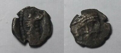 Ancient Greece 3 Cent BC  PHOENICIA ARADOS Small SILVER Hemiobol DEITY