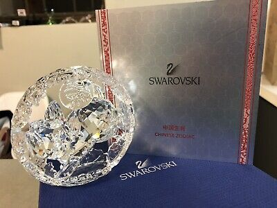 Swarovski Zodiac Year Of The Pig 2019 Clear Crystal Collectable Ornament