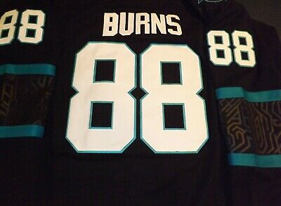 competitive price c8998 38b6d BRENT BURNS SAN Jose Sharks NHL Authentic Game Used Jersey ...