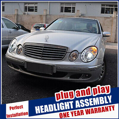 For Benz E-Class W211 Headlights 2002-2008 Xenon Beam Lens Projector HID Lamps