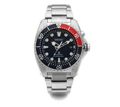 SEIKO SKA369P1 Kinetic Diver 41mm Stainless Steel Men's Watch 200M