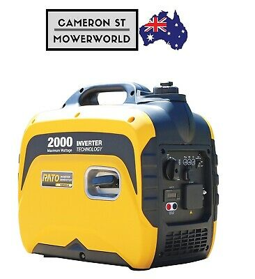 RATO Inverter Generator R2000is 2KW Output Portable Camping 4 Stroke Petrol