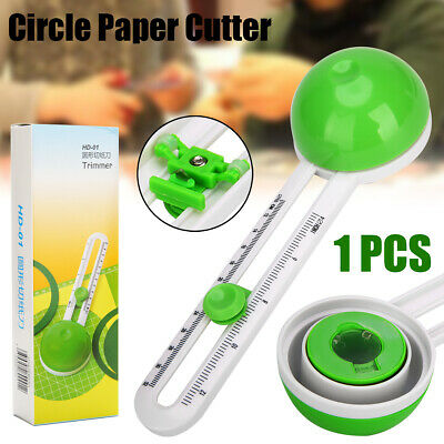 1pcs Circular Paper Cutter Round Scissors Cutter Cut Paste Circle Paper Craft