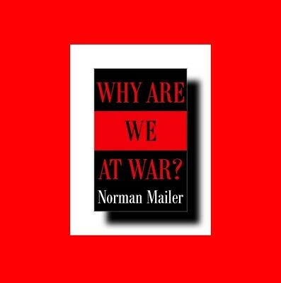 Vg Book*Pulitzer Prize Winning Author:norman Mailer Why Are We At War? Political