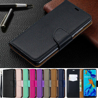 Wallet Case for Huawei P30 Pro/P30 Lite/P20 Pro Magnetic PU Leather Flip Cover