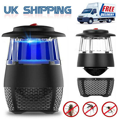 Electric UV Light Mosquito Killer Insect Grill Fly Bug Zapper Trap Catcher Set