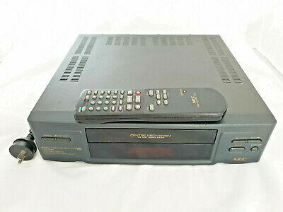 NEC VHS Video Cassette Recorder VN-63 with remote