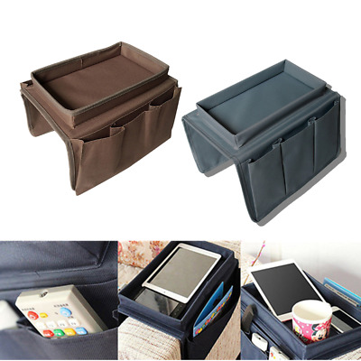 4 Pockets Arm Rest Organiser for Chair/Couch Sofa Table Holder Organiser Tray