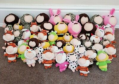 Job Lot 50 Animal Toy Picture Frames Keyring - Car Boot / Party Gifts